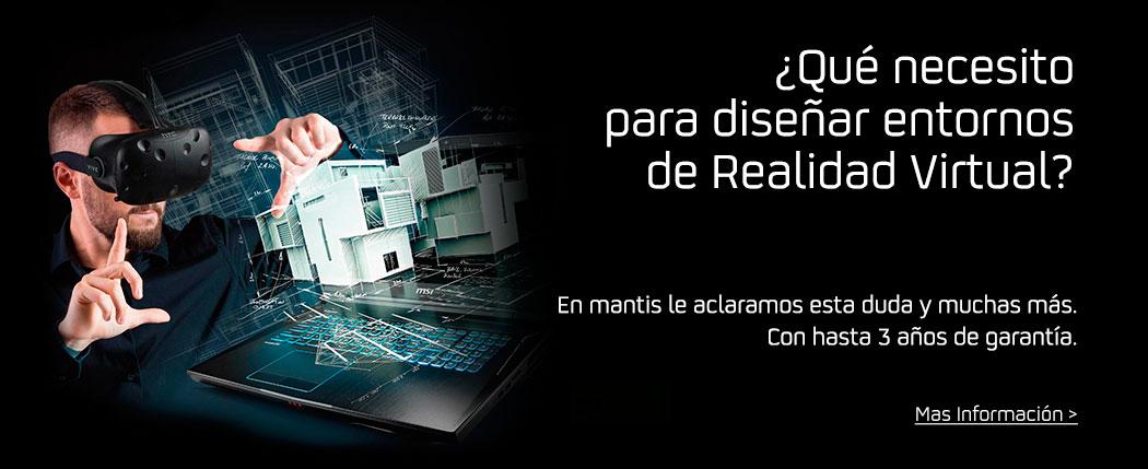 Ordenadores para Creación de entornos de Realidad Virtual