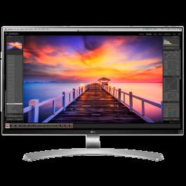 Monitor de LED 4K de 27 Pulgadas LG 27UD88-W con panel IPS, 10 bits por color y 5 ms. de tiempo de respuesta.