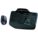 Kit de Teclado y Ratón Logitech Wireless Desktop MK710 - Inalámbrico