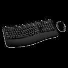 Kit de Teclado y Ratón Microsoft Wireless Comfort Desktop 5000 - Inalámbrico y ergonómico (curvado).
