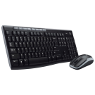 Kit de Teclado y Ratón Logitech Wireless Desktop MK270 - Inalámbrico