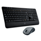 Kit de Teclado y Ratón Logitech Wireless Desktop MK520 - Inalámbrico