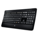 Teclado Logitech Wireless Illuminated Keyboard K800