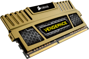 Memoria Corsair Vengeance™ 16 GB. de memoria RAM a 1.600 MHz. CL9 (Kit de 4 x 4 GB)