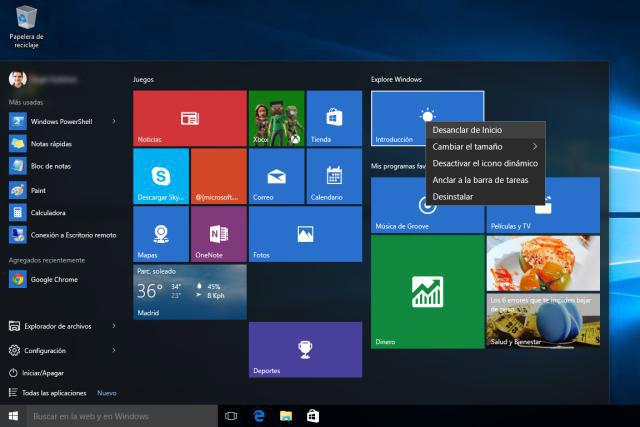 Principales Diferencias Entre Windows 7 Y Windows 10
